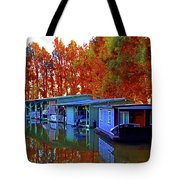 Delta Light And Reflections Tote Bag