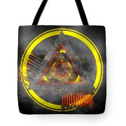 Delta Tunnel - Cg Abstract Render Tote Bag
