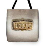 Deluxe Chrome Emblem Tote Bag