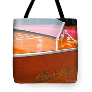 Chris Craft Deluxe Tote Bag