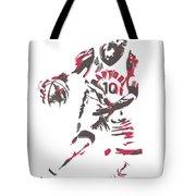 Demar Derozan Toronto Raptors Pixel Art 7 Tote Bag