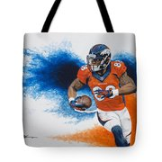 Demaryius Thomas Tote Bag