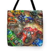 Demo Derby One Tote Bag by Jame Hayes