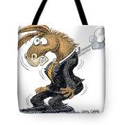 Democrat Deflates Tote Bag