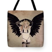 Demon Girl By Mb Tote Bag