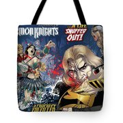 Demon Knights Tote Bag