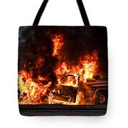 Demon Released Tote Bag by Christopher Holmes