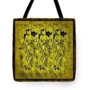Demonios De Oro Tote Bag