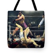 Dempsey And Firpo  Tote Bag