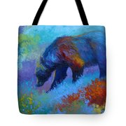 Denali Grizzly Bear Tote Bag