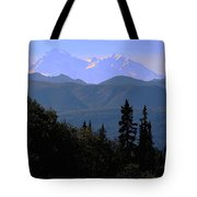 Denali Mountain Tote Bag