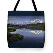 Denali Wonder Lake Tote Bag