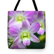 Dendrobium Orchids Tote Bag