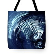 Denim And Light  Abstract 1 Tote Bag