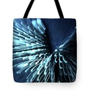 Denim And Light  Abstract 2 Tote Bag
