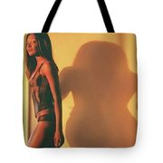Denise And Shadow Tote Bag