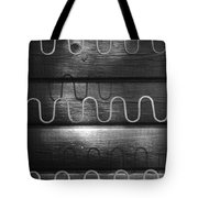 Denmark Abstract Of Chair Springs Tote Bag