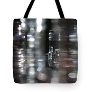 Denmark Abstract Of Glass Chess Set Tote Bag