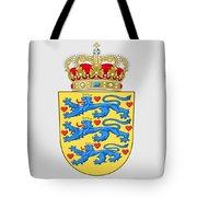 Denmark Coat Of Arms Tote Bag