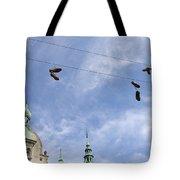 Denmark, Copenhagen, Amager Torv, Shoes Tote Bag