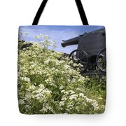 Denmark, Old Cannon On Bastion Tote Bag