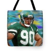 Dennis Byrd Tote Bag