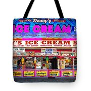 Dennys Ice Cream Shop Tote Bag
