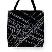 Densen On Dark Sky Tote Bag
