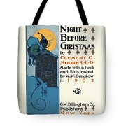 Denslows Night Before Christmas By Clement Moore Lld 1902 Tote Bag