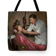 Dentist - Making An Impression - 1936 Tote Bag