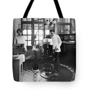Dentist Office At Sanatarium Tote Bag
