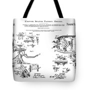 Dentists Chair Patent 1892 Tote Bag