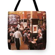 Dentro Il Caffe Tote Bag