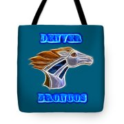 Denver Broncos 2 Tote Bag