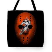 Denver Broncos War Mask 2 Tote Bag
