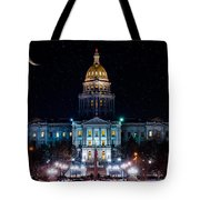 Denver Capital Nights Tote Bag
