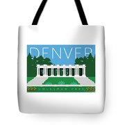 Denver Cheesman Park Tote Bag by Sam Brennan