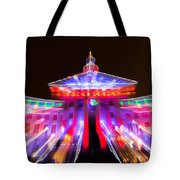 Denver City And County Building Lights Tote Bag