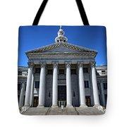 Denver, Colorado Courthouse Tote Bag