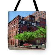 Denver Downtown Warehouse Tote Bag
