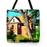 The Denver House Tote Bag