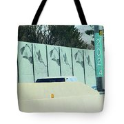 Denver Noise Block Tote Bag