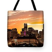 Denver Sunrise Iv Tote Bag