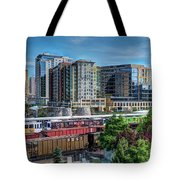 Denver Train Station Tote Bag