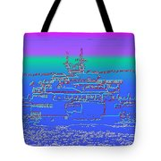 Departing Ferry Tote Bag