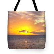 Departing St. Lucia Tote Bag
