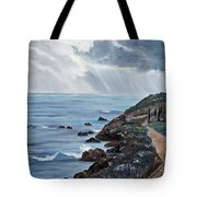 Departing Storm Tote Bag
