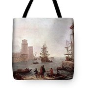 Departure Of Ulysses From The Land Of The Feaci  Tote Bag