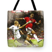 Depay In Action Tote Bag