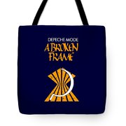 A Broken Frame Logo With Name Tote Bag